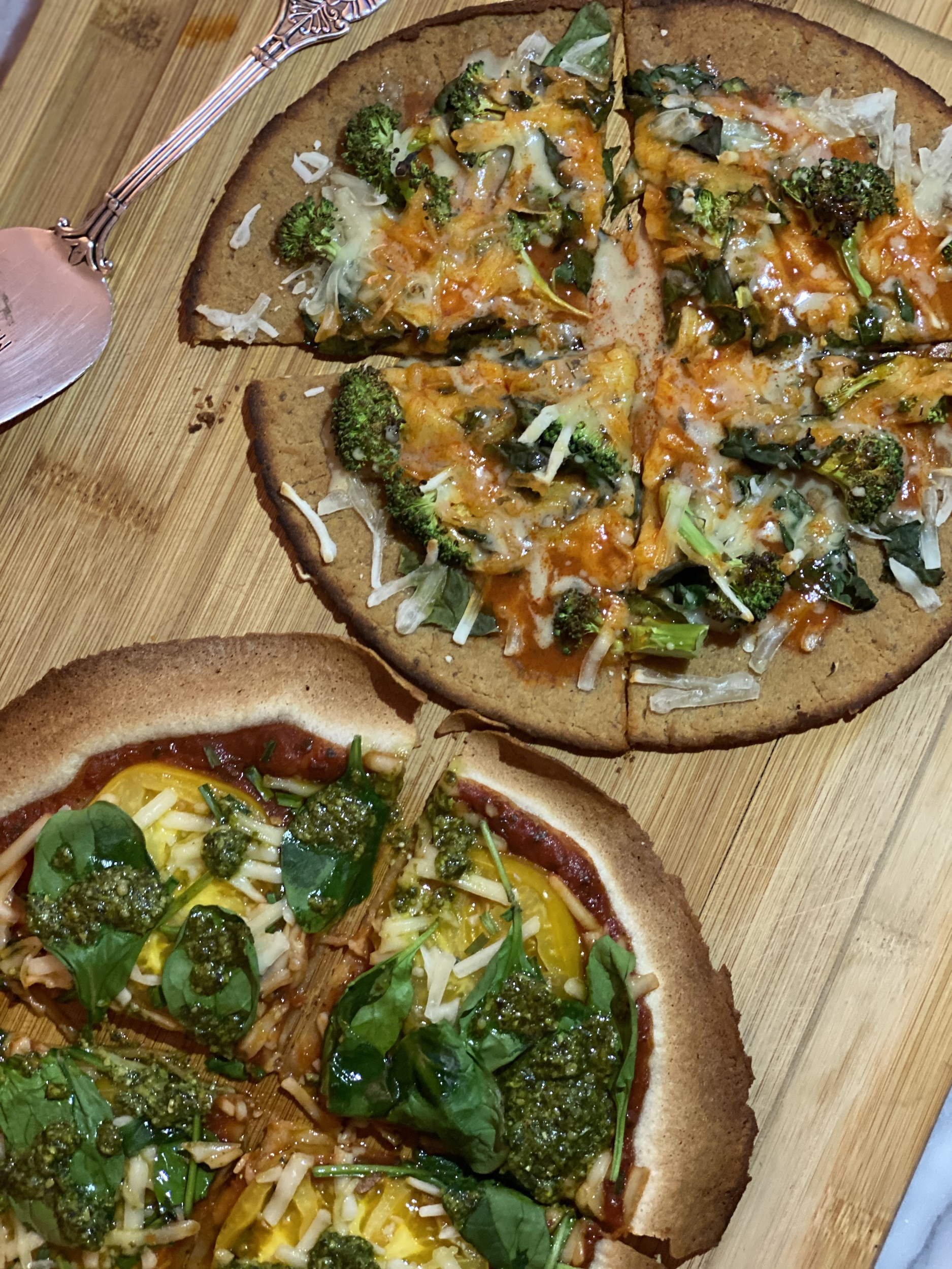 Vegan Gluten Free Tortilla Pizza